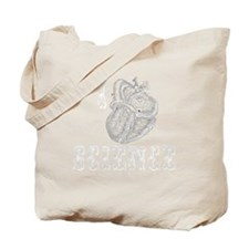 I Heart Science (for Black Ts) Tote Bag