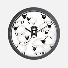sheepies Wall Clock