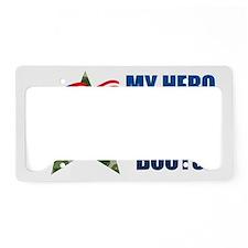 herobootsK License Plate Holder