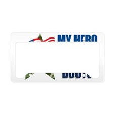 heroboots License Plate Holder