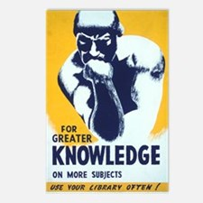 For Greater Knowledge Use Postcards (Package of 8)