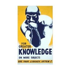 For Greater Knowledge Use Your Decal