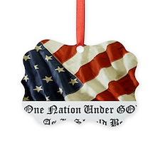 one nation under god Ornament