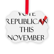 RepublicanFront Ornament