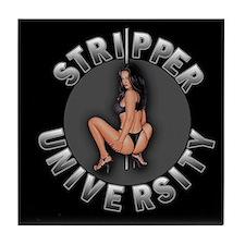 Stripper University Tile Coaster