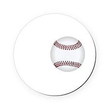 No Off Season Baseball White Cork Coaster