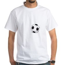 No Off Season Soccer White Shirt
