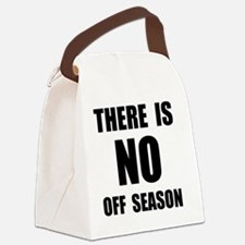 No Off Season BLack Canvas Lunch Bag