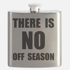 No Off Season BLack Flask
