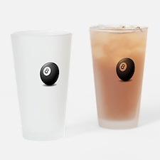 No Off Season Pool White Drinking Glass