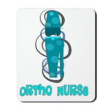 Ortho Nurse Blue Knee Mousepad