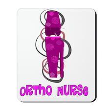 Ortho Nurse PINK KNEE Mousepad