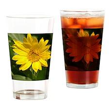 Yellow_Flower_iPad Drinking Glass
