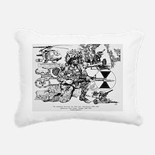 Large Frame Print Rectangular Canvas Pillow