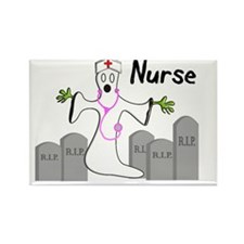 Ghost Nurse 2011 Rectangle Magnet