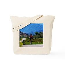 Cycling_Mountain_iPad Tote Bag