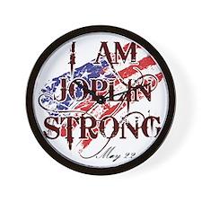 Joplin Strong Wall Clock