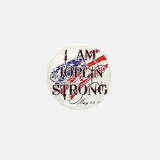 Joplin Strong Mini Button