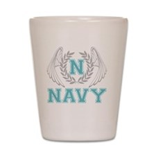 navy2 Shot Glass
