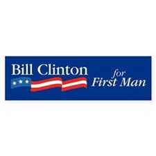 Bill for First Man Bumper Car Sticker