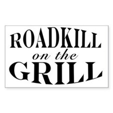 Roadkill on the Grill Decal