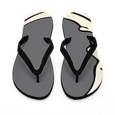 Crescent-man_in_the_moon Flip Flops