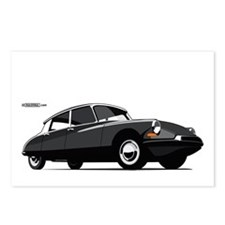 auto-citroen-ds-001 Postcards (Package of 8)