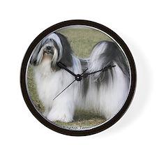 Tibetan Terrier 9Y407D-232 Wall Clock