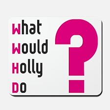 holly1 Mousepad