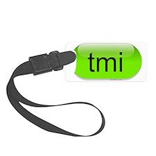 tmi-green-cropped Luggage Tag