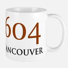 604 Area Codes Base Mug
