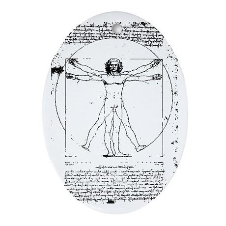 Vitruvian Oval Ornament