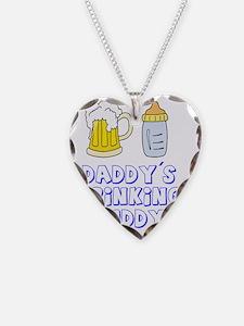 daddrinkbud Necklace Heart Charm