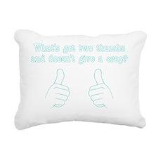 scrubsshirt2 Rectangular Canvas Pillow