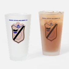 SSI - MARINE ATTACK SQUADRON 214 WI Drinking Glass