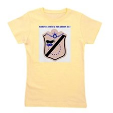 SSI - MARINE ATTACK SQUADRON 214 WITH T Girl's Tee