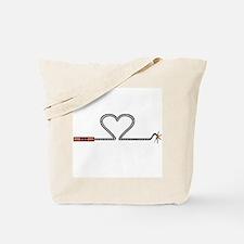 Heart TNT Fuse Tote Bag