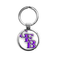 GFB Logo Round Keychain