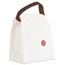 targetFrontDk Canvas Lunch Bag