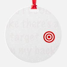 targetFrontDk Ornament