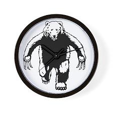 bear-verine-T Wall Clock