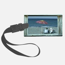 Out at the Beach Luggage Tag