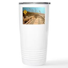 Sea Turtle Crossing Travel Mug