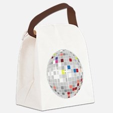 discoball1 Canvas Lunch Bag