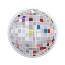 discoball1 Round Ornament