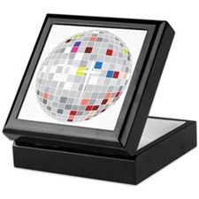 discoball1 Keepsake Box