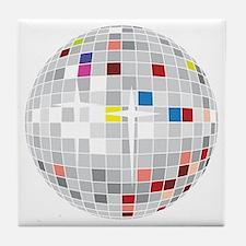 discoball1 Tile Coaster