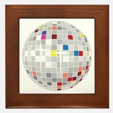 discoball1 Framed Tile