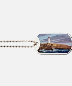 Peggys Cove Lighthouse png Dog Tags