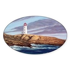 Peggys Cove Lighthouse png Decal